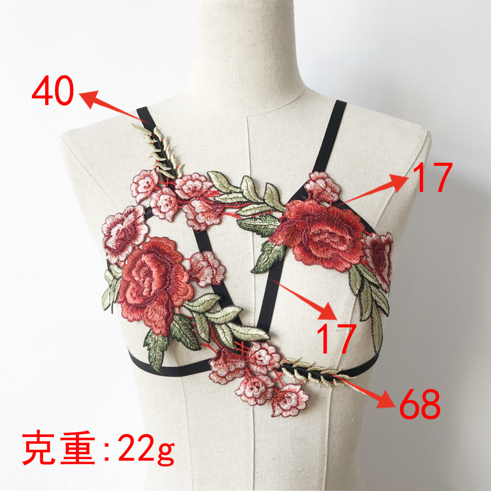 Stylish Bra Sexy Floral Fashion Underwear