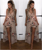 Fashion Sexy Printing Rompers Dress