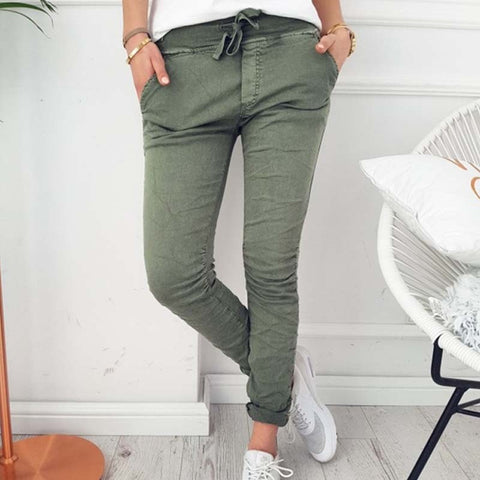 Casual denim Long pants