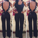 WOMEN'S ROUND NECK SLEEVELESS PIECE PANTS