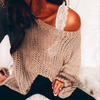 Fashion Casual Loose Knitted Sweaters