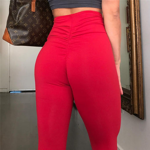 Sexy Zipper Denim Pants