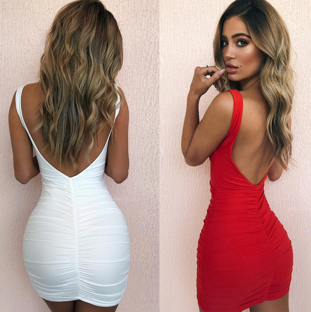 Women'S Sexy Package Hip Dress