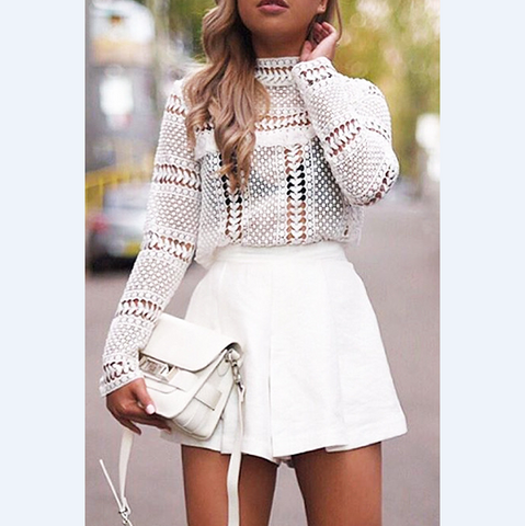 Fashion knit vest shirt