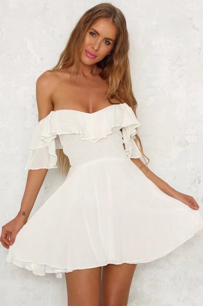 Fashion Sexy Short Sleeve Dress