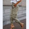 Fashion Loose Pocket Pants