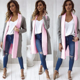 Women Fashion Long Sleeve Jacket