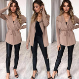 Women'S Long Sleeve Cardigan Coat Sweater