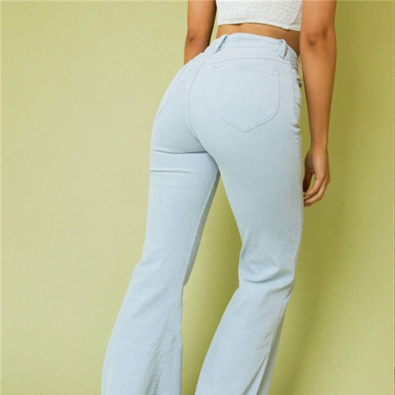 Casual Fashion High Waist Pants