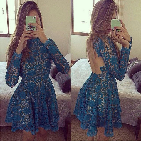 Sexy Sling Irregular Lace Stitching Dress