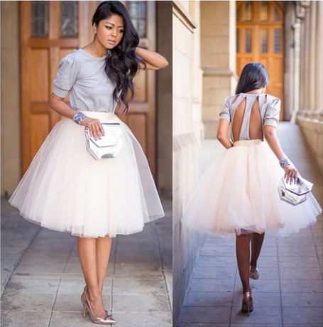 Fashion high waist skirts