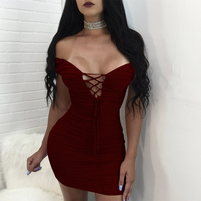Women's Sexy V-Neck Dress