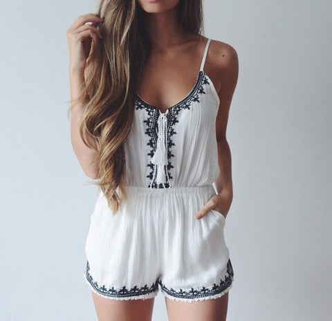 Fashion printed Jumpsuits