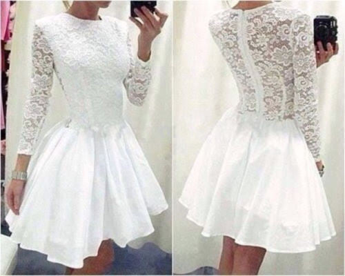 Slim Lace Princess Dress