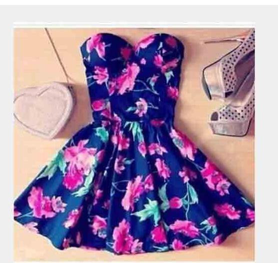 On Sale STRAPLESS FLOWER HOT SHOW BODY DRESS