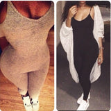 Fashion Sleeveless Jumpsuit Pants