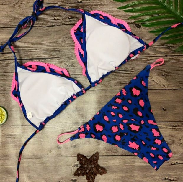 Fashion Trending Sexy Summer Beach Hot Swimsuit New Arrival Bottom & Top Backless Bikini