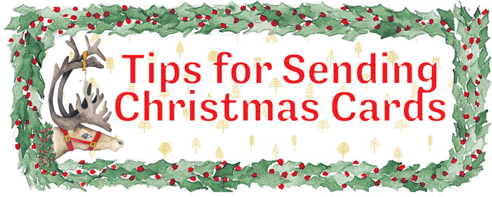 Christmas Card Tips