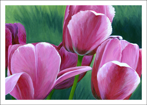 Lucy's Tulips by Anna Ayres