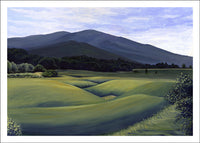 Fields of Montgomery, Vermont by Anna Ayres