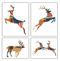 Reindeer Collage Collection