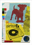 Airtist Dog by Carl David Ruttan