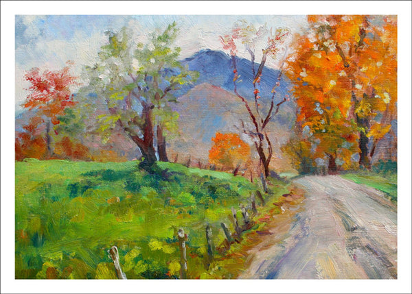 Autumn on Bryce Hill by Janet Bonneau