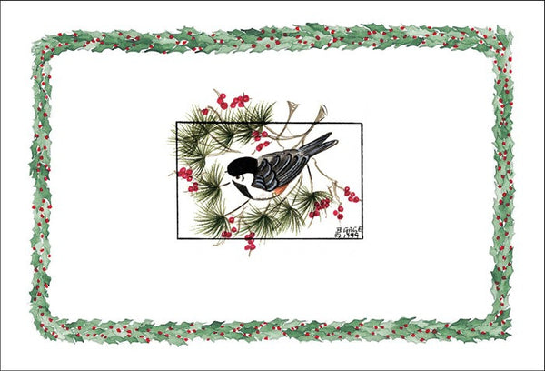 Holiday Chickadee