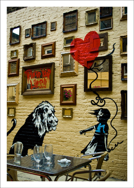 The Girl & The Lion, London by Matt Hovey