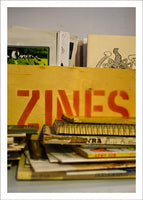Monastiraki Series: 'zines by Matt Hovey