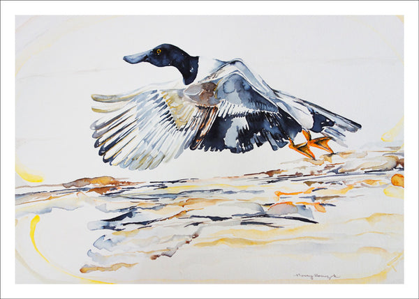 Shoveler by Nancy Tomczak