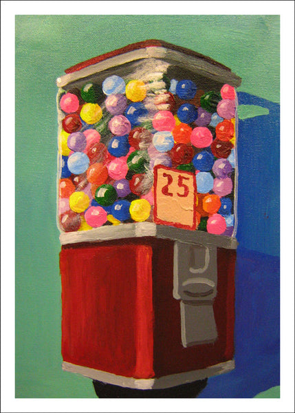 Gumball Machine #3 by Robert Waldo Brunelle, Jr.