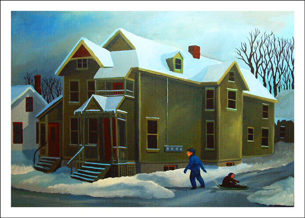 Snow Day by Robert Waldo Brunelle, Jr.