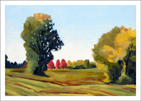 October Morning, Alburgh by Susan Larkin