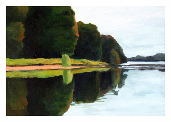 Mississquoi Reflection by Susan Larkin