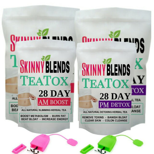28 Day Besties TeaTox & Tea Infusers!