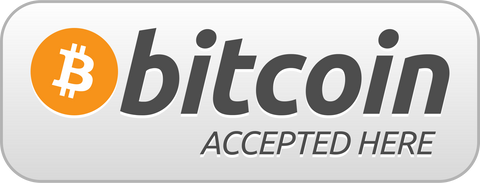 We now accept Bitcoin!!!