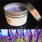 Soy Wax Candle (Scents Vary) (4 oz. Tin)