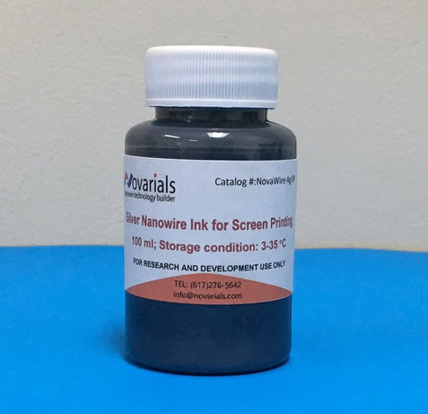 Silver Nanowire Ink (for Screen Printing)
