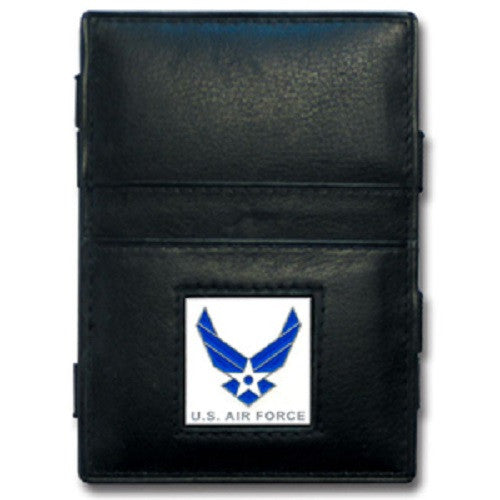 U. S. Air Force Jacob's Ladder Leather Wallet USAF Veteran