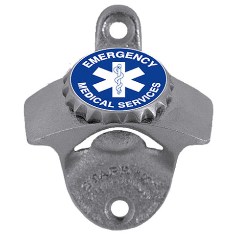 Emergency Medical Services Wall Mounted Bottle Opener EMS EMT