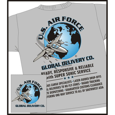 U. S. Air Force Global Delivery Co. T-Shirt USAF Veteran