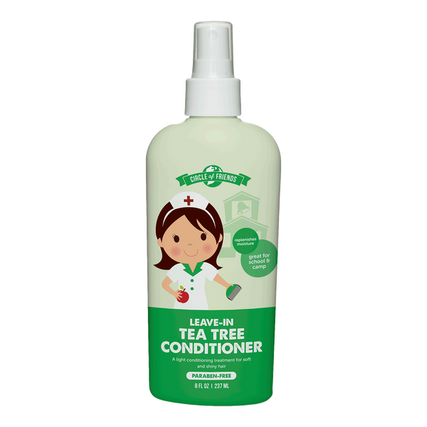Circle of Friends Leave-In Conditioner - Tea Tree 8 Oz