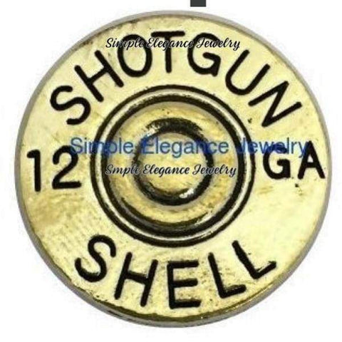 12 GA Shell Snap 20mm for Snap Charm Jewelry - Snap Jewelry