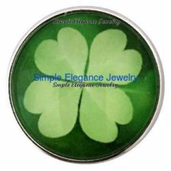4 Leaf Clover Snap 20mm for Snap Jewelry - Snap Jewelry
