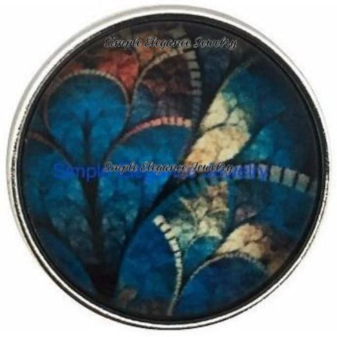 Abstract Leaf Design Snap 20mm for Snap Jewelry - Snap Jewelry
