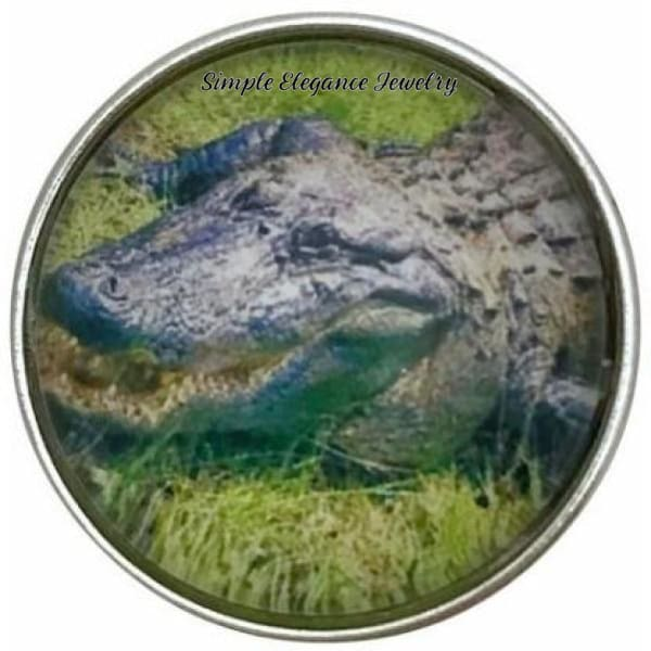 Alligator Snap Charm 20mm for Snap Jewelry - Snap Jewelry