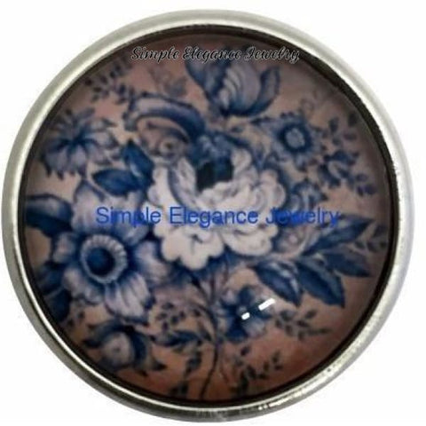 Antique Rose Snap 20mm for Snap Charm Jewelry - Snap Jewelry