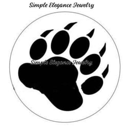 Bear Paw Snap 20mm for Snap Charm Jewelry - Snap Jewelry