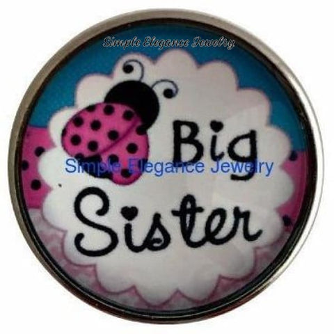 Big Sister 20mm Snap - Snap Jewelry
